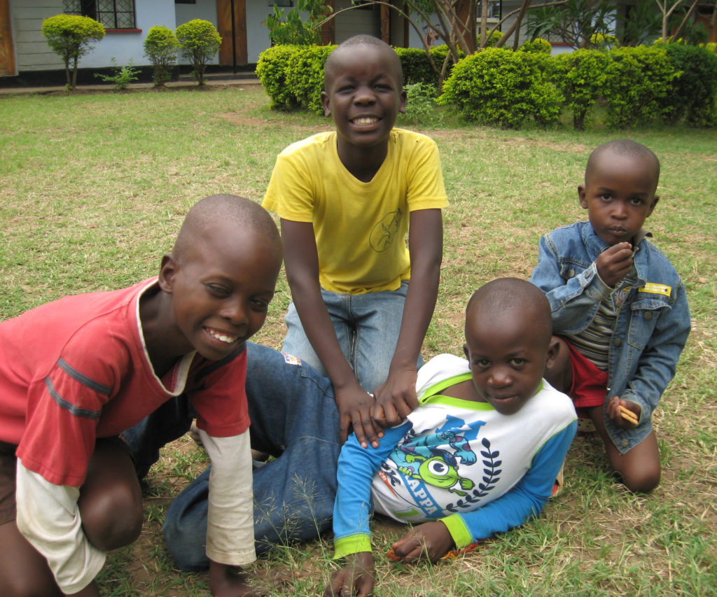 Kisumu Children Trust - James's as he is today