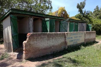 Existing toilets